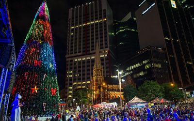Soak Up Christmas in the Square with Our Accommodation Near Brisbane CBD
