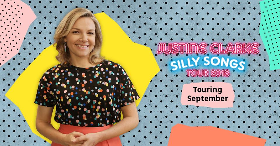 Justine Clarke Silly Songs Tour 2018